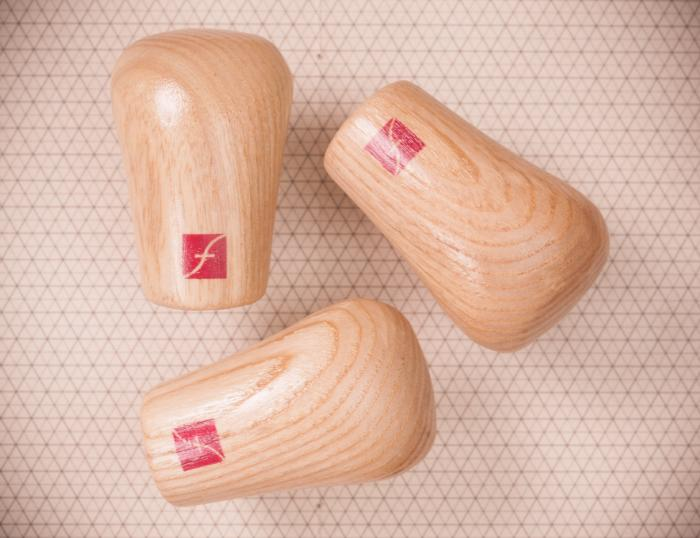 3-Pack Wooden Handle
