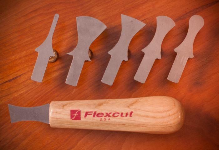 Flexcut Scraper Set