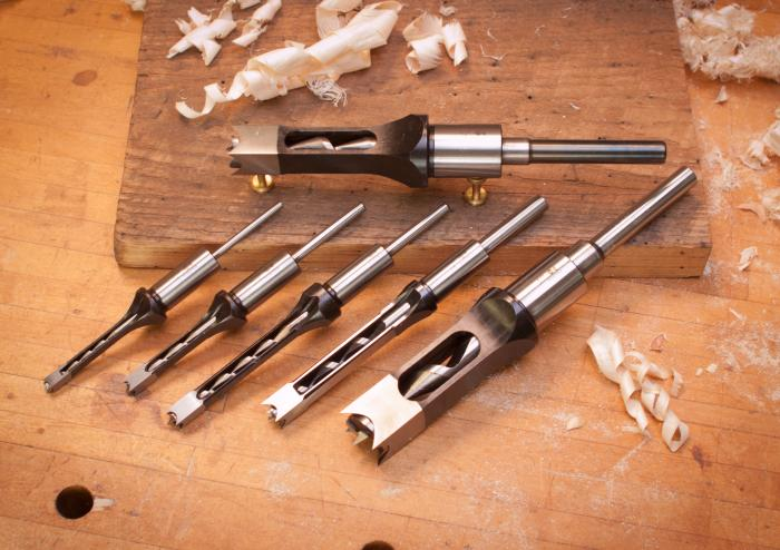 Hollow Square Mortise Chisel & Bits