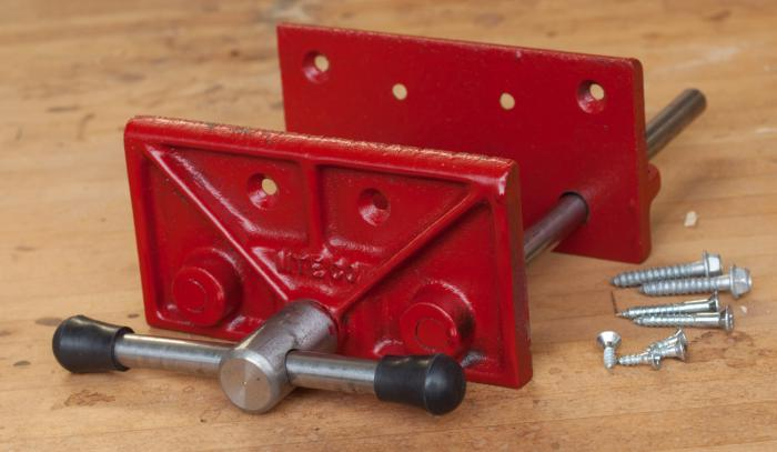 Milwaukee Small Woodworking Vise - Made in USA