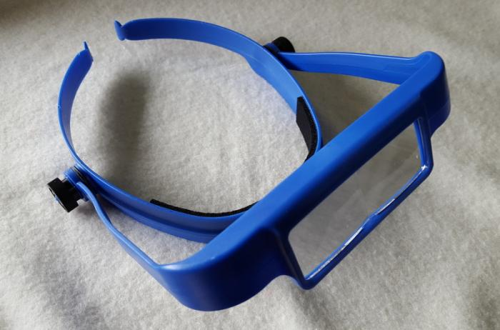 OptiSIGHT® Binocular Magnifiers and Accessories - Royal Blue