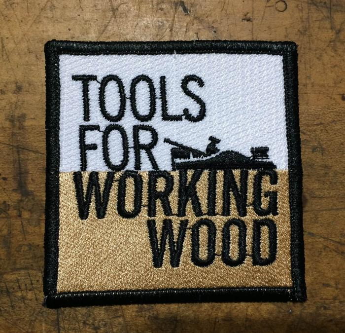 "3"" x 3"" square TFWW sew-on patch"