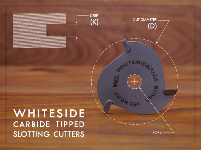 Whiteside Slotting Cutters and Arbors
