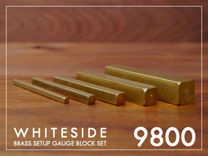 Brass Set-Up Gauge Blocks by Whiteside