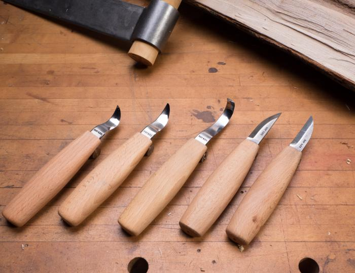 Spoon Carving Knives by Ray Iles