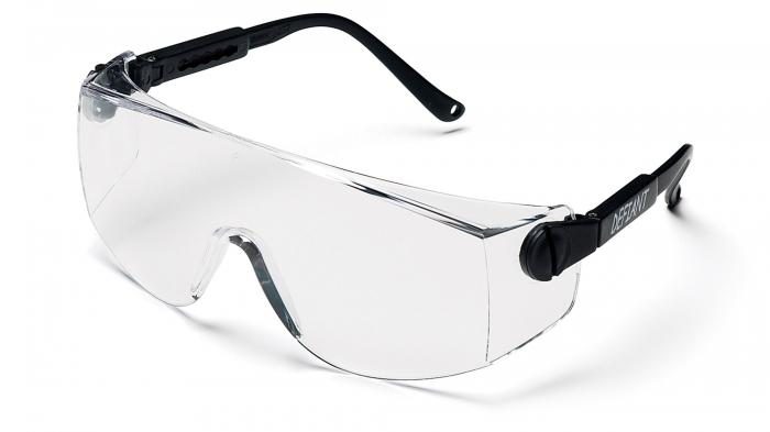 OTS XL - Adjustable temples. Designed to fit comfortable over eyeglasses
