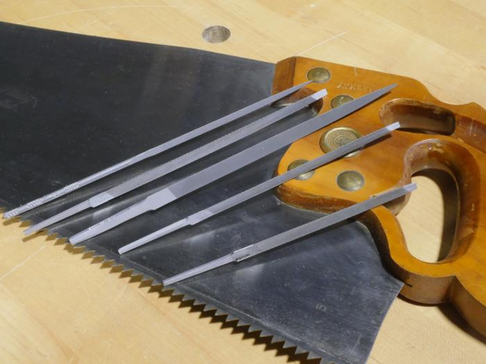 Swiss Made Saw Files by Vallorbe