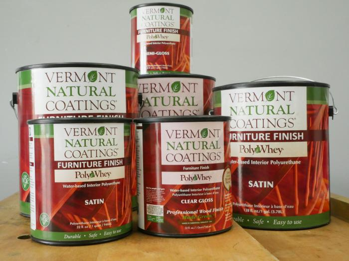 Vermont Natural Coatings PolyWhey Furniture Finish