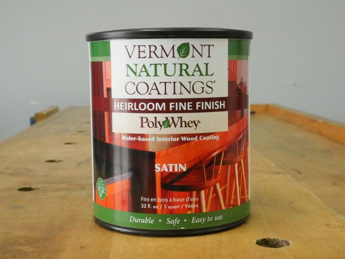 Vermont Natural Coatings Heirloom Wipe-on Finish