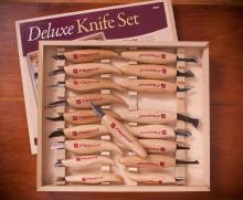 Deluxe Knife Set in Wooden Box- KN250