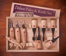 Flexcut Knife and Mixed Palm and Knife Sets
