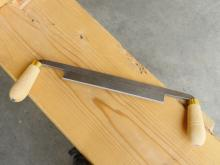 "8"" Mike Abbott Drawknife by Ray Iles"