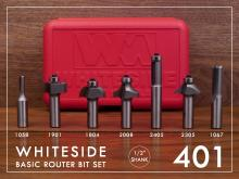 Whiteside Router Sets of Router Bits