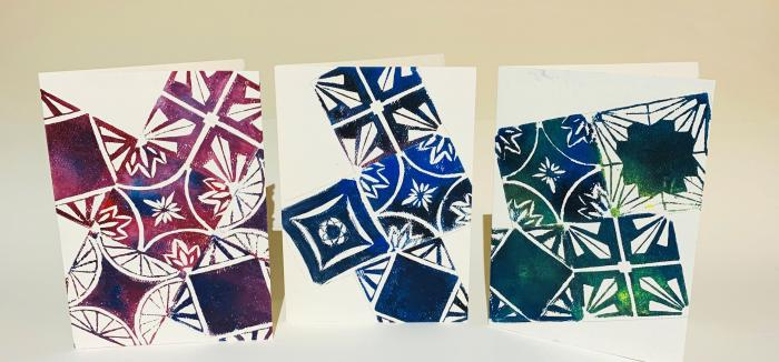 Intro to Block Printing Class with Annie Raso