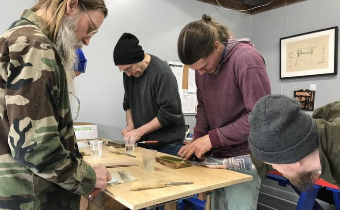 Freehand Sharpening Class with Corn Schmid