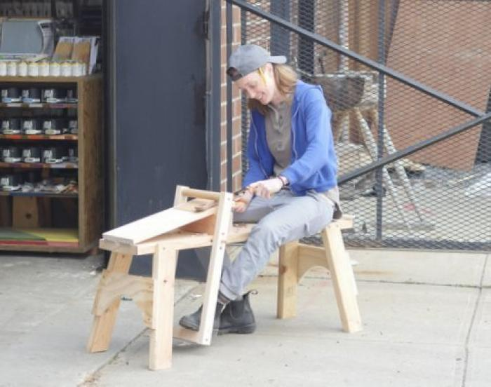 City Dweller's Collapsible Shave Horse Class with Amy Pate