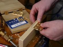 Installing Butt Hinges & Other Hardware By Hand with Joel Moskowitz