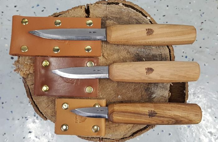 Sloyd Knives by Ben & Lois Orford