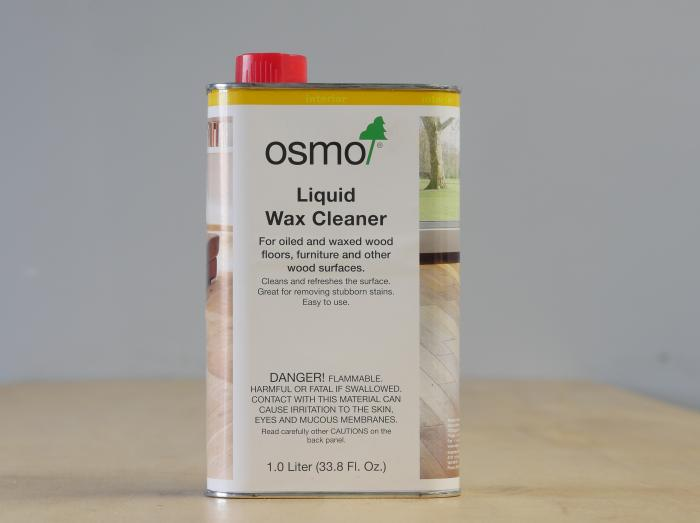 Osmo Liquid Wax Cleaner - Clear