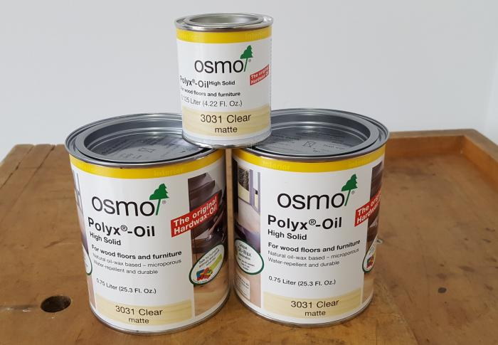 Osmo Polyx Hard Wax Oil 3031 - Clear  Matte