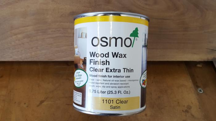 Osmo Extra Thin Wood Wax Finish for Tight Grain Dense Woods #1101