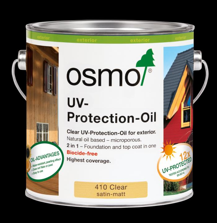 Osmo UV Protection Oil - Clear Satin