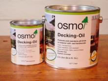 Osmo Decking Oil - Water Repellent Finish for Exterior Wood
