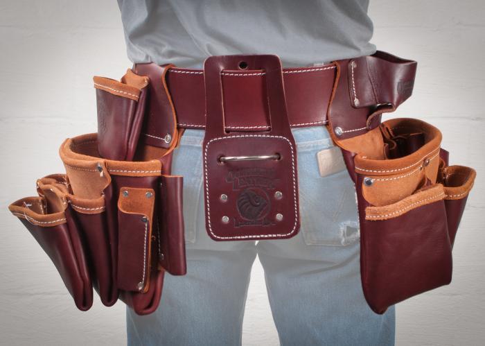 occidental seven bag framer belt