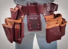 Occidental Pro Framer Tool Belt with Double Outer Bag