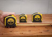 Stabila Inch and Metric Tape Measures