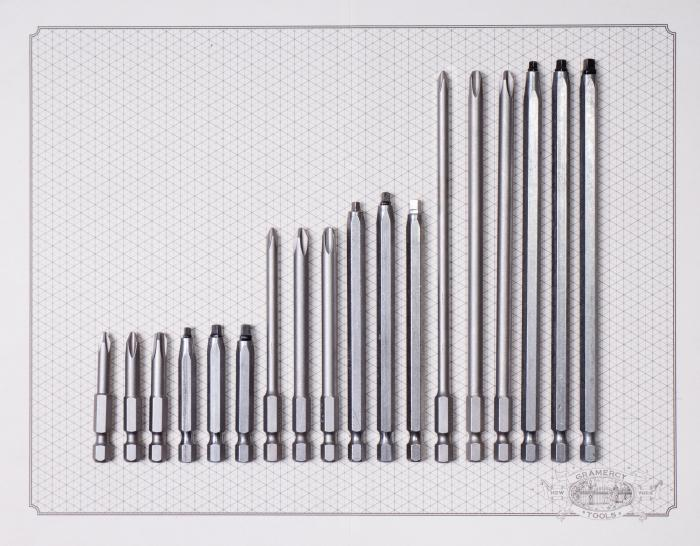 Industrial Driver Bits by Make it Snappy - Made in USA